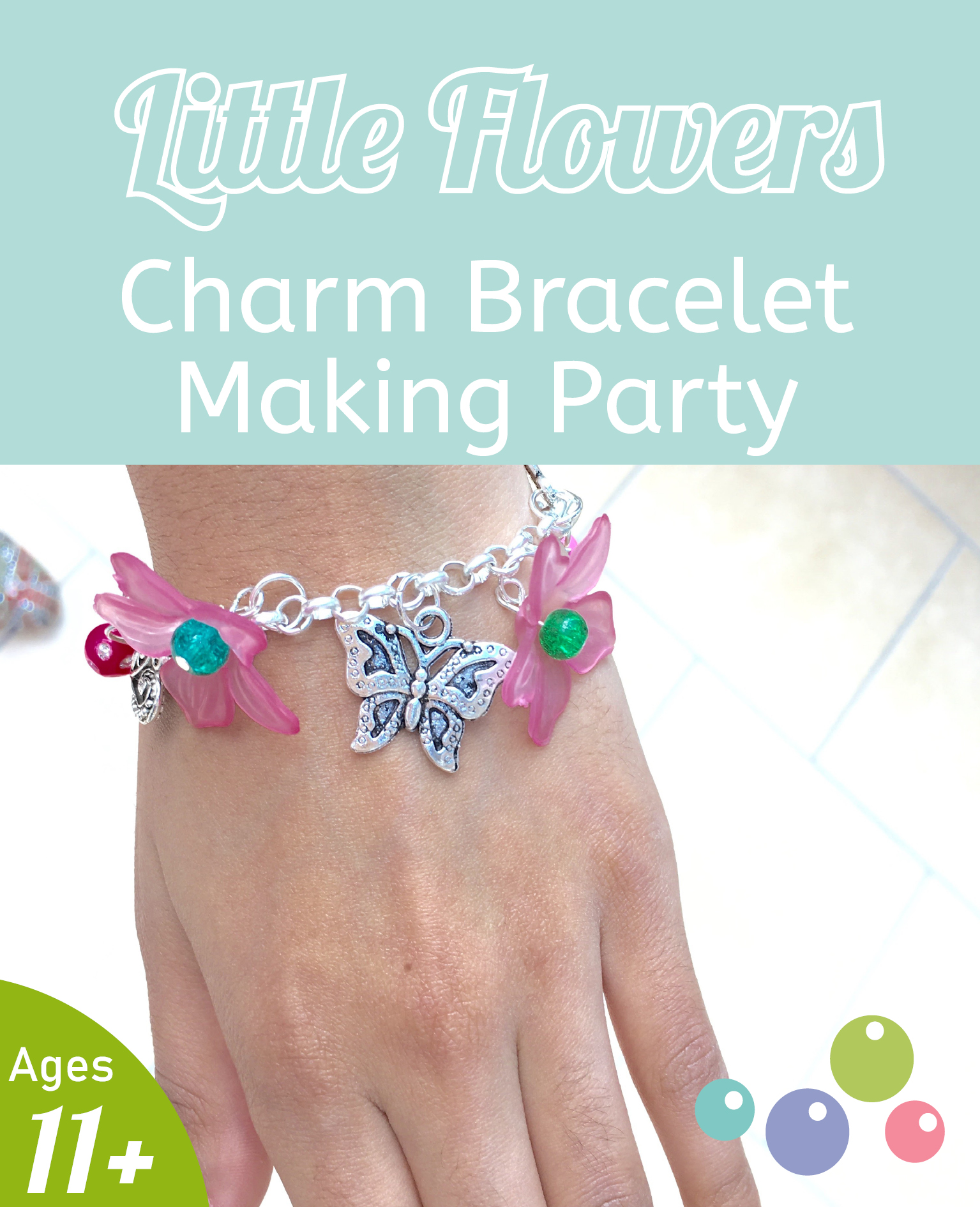 Jewellery Making parties Hampshire