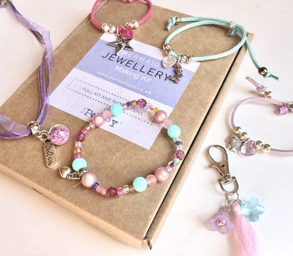 mermaid jewellery making kit