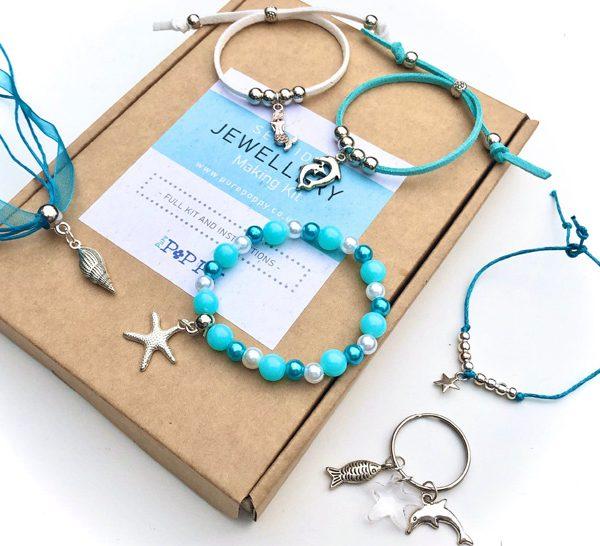 seaside jewellery making kit