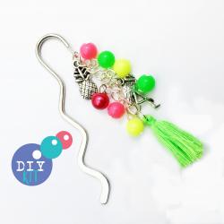 flamingo bookmark making kit