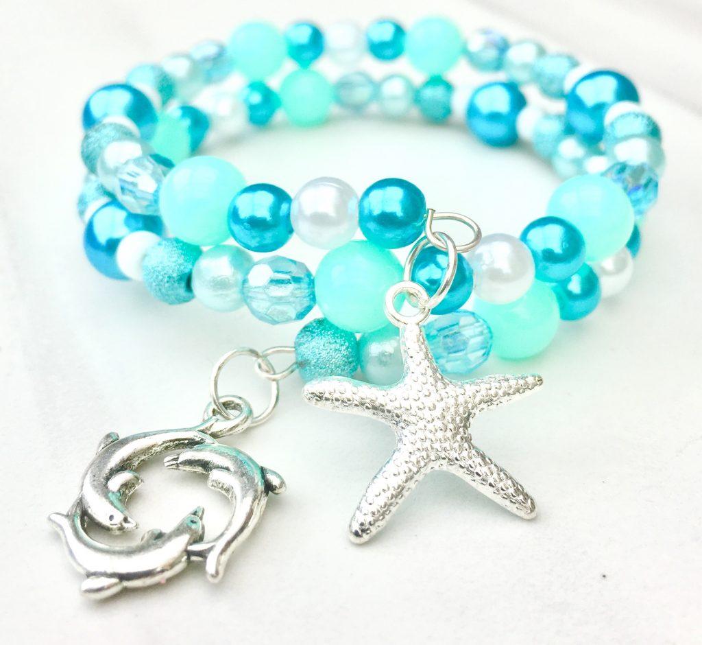 starfish dolphin bracelet making kit