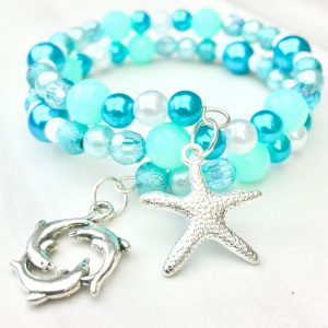 starfish dolphin bracelet making kit
