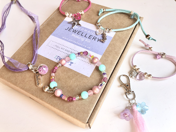 mermaid jewellery making kit