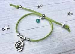 flowers birds friendship bracelet making kit