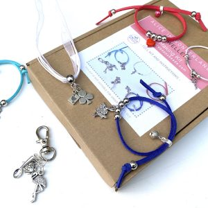 alice wonderland jewellery making kit